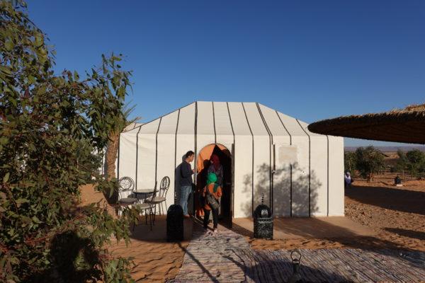 私たちのテント